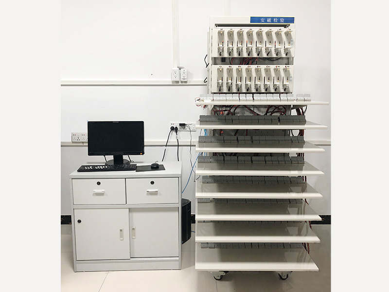 Cell charge and discharge test laboratory